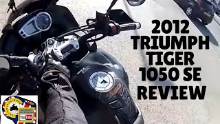 9. Triumph Tiger 1050 SE review and ANOTHER moan (I must be getting old)