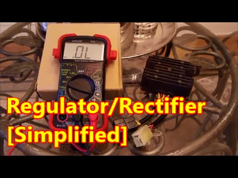 Idiot's Guide to Regulator Rectifier Test | SV650