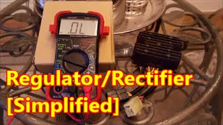 10. Idiot's Guide to Regulator Rectifier Test | SV650