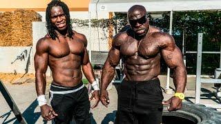 Video SUPERHUMAN BODYWEIGHT WORKOUT | Kali Muscle + Alseny | Kali Muscle MP3, 3GP, MP4, WEBM, AVI, FLV Oktober 2018