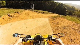 6. ATV CAN-AM DS250 - HIGH SPEED TEST WITH GOPRO