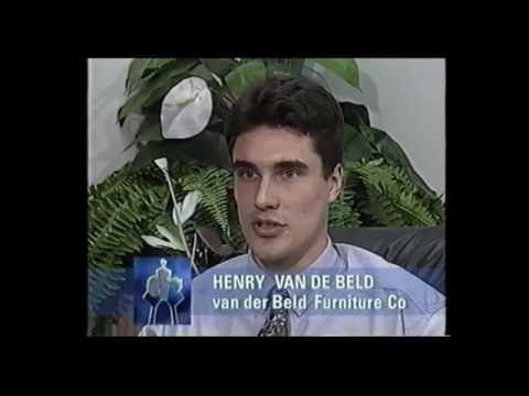 1991 Ethnic Business Awards Finalist – Manufacturing Category –  Henry Van De Beld – Van De Beld Furniture