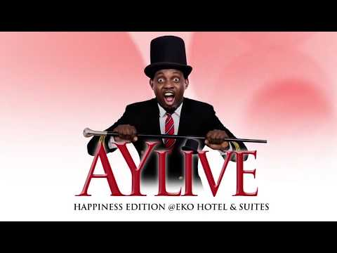 HAPPINESS MOMENTS AT AY LIVE, LAGOS 2014