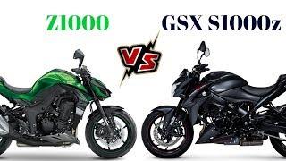 3. Kawasaki Z1000 vs Suzuki GSX S1000z