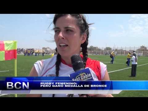 Perú Ganó Medalla De Bronce En Rugby Femenino