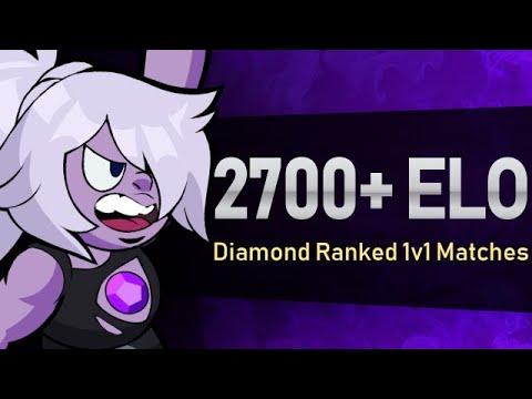 2700 ELO Brawlhalla Ranked | Diamond Amethyst 1v1 Gameplay
