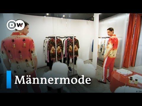 Modetrends für Männer - kurze Hosen und Hawaiihemden si ...
