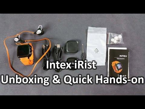 Intex iRist Unboxing & Quick Hands-on