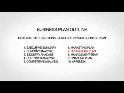Non Profit Business Plan Outline