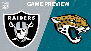 Raiders vs. Jaguars (Week 7 Preview) | Move the Sticks | NFL by NFL
