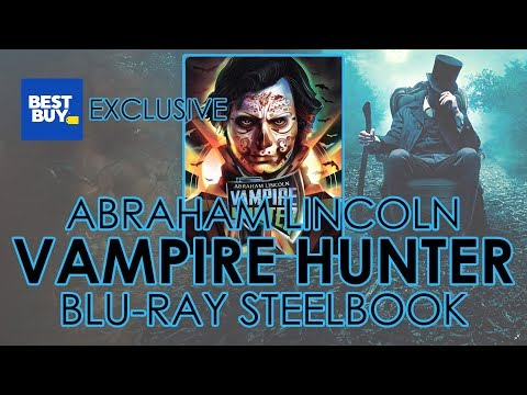 Abraham Lincoln: Vampire Hunter (2012) Blu-ray Steelbook Unboxing | Best Buy Exclusive (4K Video)