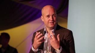 Fredrik Reinfeldt i Efterfrågat med Erik Blix och Göran Gabrielsson