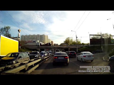 Авария в Химках