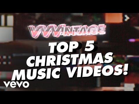 VVVintage – Top 5 Christmas Music Videos! (ft. Mariah Carey, Wham!, Bing Crosby, David Bowie)