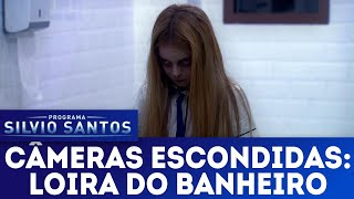 Video A Loira do Banheiro - The Bloody Mary Prank | Câmeras Escondidas (25/11/18) MP3, 3GP, MP4, WEBM, AVI, FLV Februari 2019