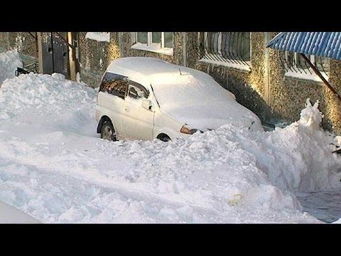 Ρωσία: με βαρυχειμωνιά και πυκνό χιόνι περιμένουν την πρωτοχρονιά