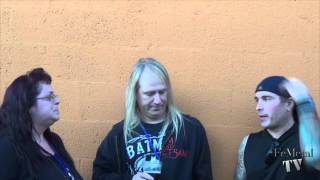 Flotsam and Jetsam Interview with Jason Bittner and Steve Conley on Femetal TV