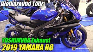 10. 2019 Yamaha R6 Yoshimura Exhaust - Walkaround - 2018 AIMExpo Las Vegas