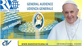 Pope Francis General Audience 2016.08.31