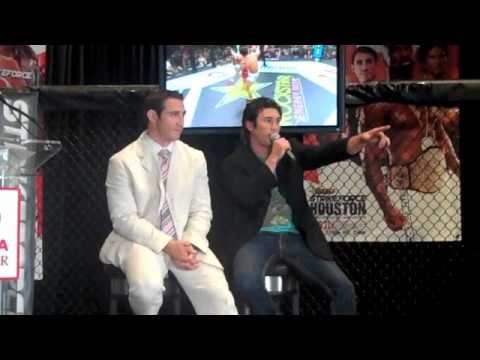 Strikeforce Houston Pre Fight Press Conference - Media Questions