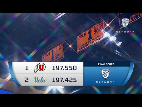 Recap: UCLA Gymnastics Edged by Utah