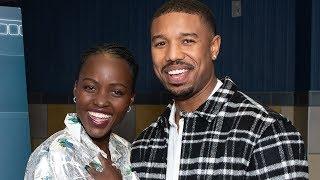 Michael B. Jordan & Lupita Nyong'o's Latest Bet - 'Black Panther' - Variety Screening Series