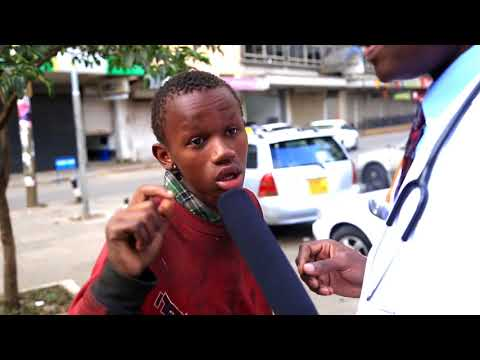 A Conversation with a Nairobi Street Kid