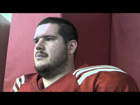 Big Red Report: Jeremiah Sirles (3-11-13) video.