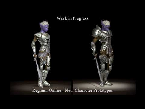 Regnum Online Technology Update — New Character Prototypes