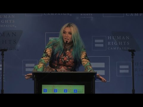 Kesha Receives This Award, Watch This Tear Jerking Video To Find Out Why (VIDEO)