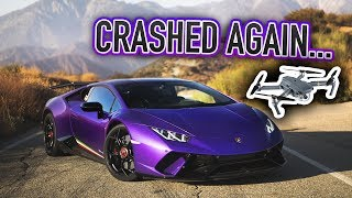 Performante & C63AMG in the Twisties: Crashed My Drone But Got the SHOT! by DoctaM3's Supercars Personified