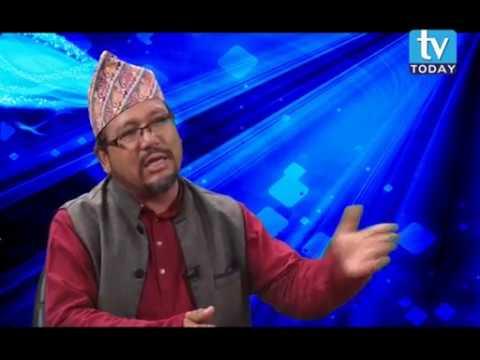 (Govind Bohara, Co-ordinator, Hamro Party Nepal Talk show on TV Today Television - Duration: 26 minutes.)