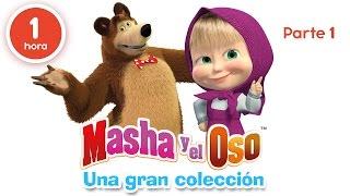 Video Masha y el Oso - Una gran colección de dibujos animados (Parte 1) 60 minutos para niños en Español MP3, 3GP, MP4, WEBM, AVI, FLV Agustus 2018