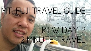 Shy Mount Fuji - Day 2 - Three Minute Travel