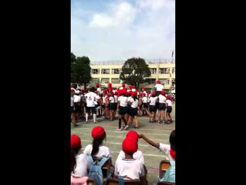 2012塚戸小学校 騎馬戦
