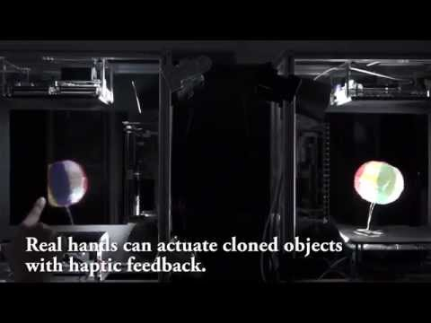 Японські вчені винайшли голограму, до якої можна доторкнутися (відео)