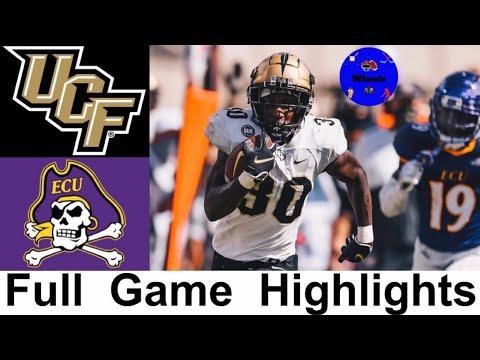 #13 UCF vs East Carolina Highlights | College Football Week 4 | 2020 College Football Highlights