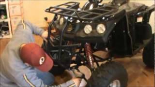 9. TAO TAO 150 HUMMER ATV ASSEMBLY PART 2