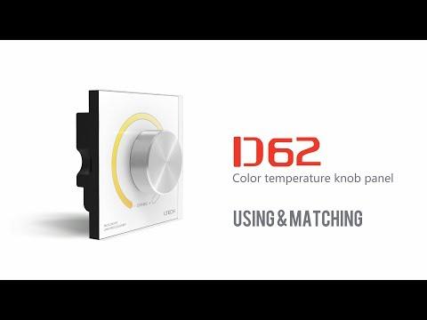 Knob switch  Color Temperature  DMX  LED  Controller CT LTECH D62