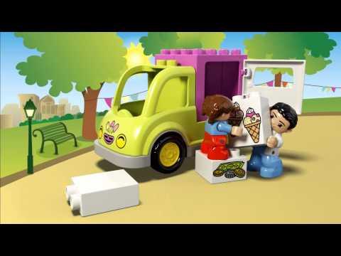Конструктор Фургон с мороженым - LEGO DUPLO - фото № 4