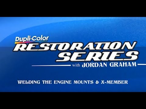 Welding Engine Mounts and X-member with Jordan Graham for Dupli-Color: