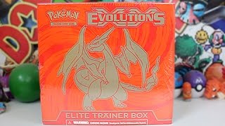 Opening The Best Chrizard Evolutions Elite Trainer Box!!! by Unlisted Leaf