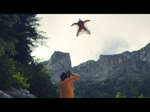 SPLIT OF A SECOND - Short film about Wingsuit Base Jumping