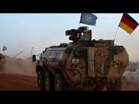 Mali: Bundeswehreinsatz - Patrouille auf dem Todess ...