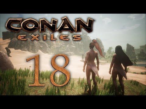 Conan Exiles - прохождение игры на русском - Мы туда не пойдём... [#18] | PC