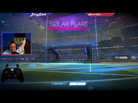 Unboxing a Solar Flare Black Market Goal Explosion in Rocket League_A héten feltöltött legjobb nap videók