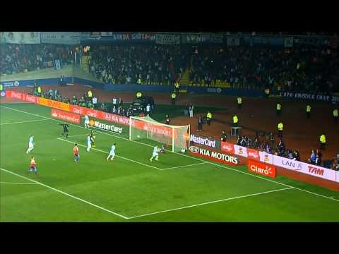 argentina batte il paraguay per 6 a 1 - copa america