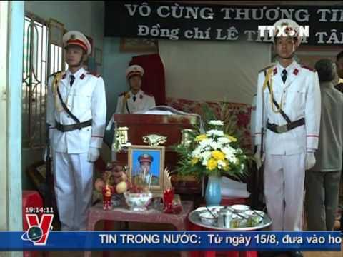 Dũng cảm truy bắt cướp có súng, một chiến sĩ công an hi sinh, tỉnh Đồng Naiai