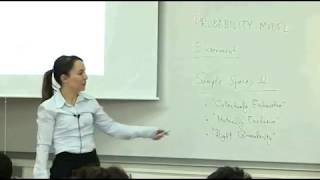 Probability And Random Variables - Week 2 - Lecture 1