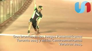 Sonorense triunfa en campeonato mundial de patinaje sobre ruedas